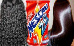 Alisamento caseiro com chocolate em pó deixa o cabelo liso, macio e hidratado