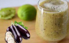 Suco de berinjela com limão: diminui o excesso de colesterol e triglicerídeos do organismo