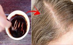 Aprenda a escurecer cabelos brancos! Receita escurece naturalmente: tinta caseira que faz crescer!