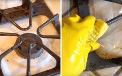 Como limpar grade de fogão com facilidade