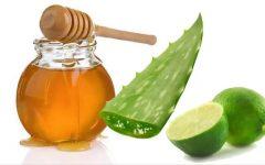 Aloe vera com mel e limão: auxilia no tratamento de várias doenças