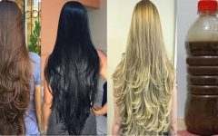 Xampu caseiro que fará seu cabelo crescer rápido