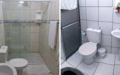 Banheiro limpo e perfumado com dicas simples