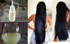 Tratamento natural para fazer o cabelo parar de cair e acelerar o crescimento dos fios