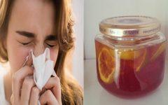 """Tome esta """"bomba natural"""" e raramente você vai gripar ou virose"""