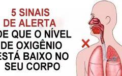 5 sinais de que você não tem oxigênio suficiente no seu corpo