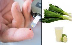 Alho-poró com suco de limão: tratamento natural para diabéticos