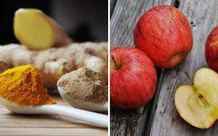 Chá de maçã com açafrão: anti-inflamatório e aumenta a imunidade