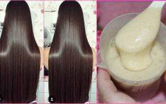 Progressiva de arroz caseira para relaxar o cabelo