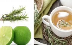 Chá de alecrim com limão: controla a ansiedade e acelera o emagrecimento