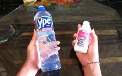 Mistura de detergente com água oxigenada para tirar manchas