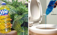 8 Utilidades do detergente que vão além de lavar a louça