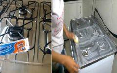 Como Limpar o Fogão Com Creme Dental – Brilho Sem Esforço