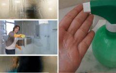 Spray caseiro para tirar manchas do box e de gordura de panelas