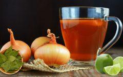 Cebola, louro e limão: chá para hipertensos, controle do colesterol e saúde dos rins e fígado