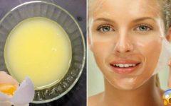 6 máscaras com clara de ovo para manter a pele saudável e prevenir o envelhecimento precoce