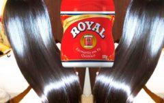 Cabelo liso em 2 dias! use Pó Royal: Poderosa progressiva caseira alisamento efetivo