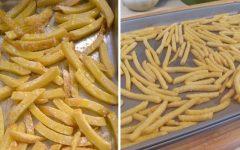 Aprenda 2 formas infalíveis de fazer Batata fria crocante e sem óleo