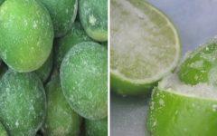 Coloque fatias de limão de limão no congelador para prevenir asma, estresse, proteger os rins e muito mais…