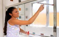Como limpar o blindex, vidros e janelas e até pisos!