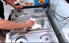 Este é um método pouco conhecido que limpa e deixa seu fogão brilhando!