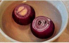 Corte 2 cebolas, coloque em 2 litros de água, acrescente mais 2 ingredientes e logo seus rins estarão completamente limpos!