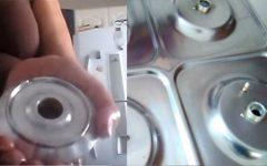 Seu fogão ficará muito mais brilhoso, sem judiar das mãos e unhas