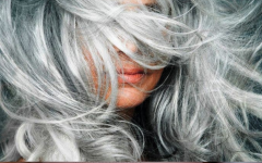 3 xampus caseiros para cabelos grisalhos