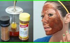 Máscara de canela deixa rosto com pele de seda