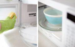 Como limpar o microondas, chuveiro e até seu colchão de um jeito mais fácil