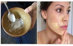 4 Máscaras caseira para um efeito lifting natural para atenuar rugas profundas