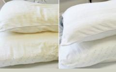 Como branquear travesseiros amarelados e manchados [Receitas Naturais]