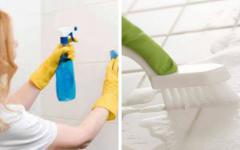 Receita de Como limpar rejunte – Dicas caseiras