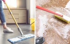 Como limpar piso encardido – Receita caseira multiuso para todos os tipos de piso