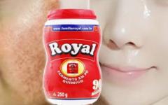 Pele de bebê em 3 dias! Use Pó Royal para remover manchas e rugas na pele