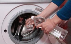 6 coisas que você pode fazer colocando vinagre na sua máquina de lavar roupas!