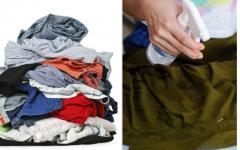 Misturinha mágica pra desamassar as roupas sem ferro de passar