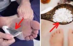 Duas técnicas poderosas para limpar o organismo através dos seus pés