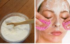 Máscara de bicarbonato e vinagre que elimina manchas, rugas e acne