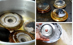 Peças do fogão, como limpar? Truques para tirar óleo e gordura