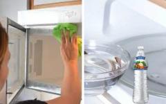 Como limpar e desodorizar o micro-ondas usando limão e vinagre