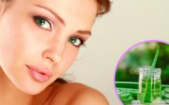 Tônico facial com babosa, soro fisiológico e óleo de rosa mosqueta para hidratar a pele