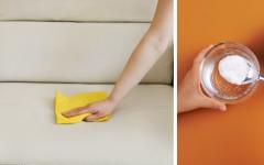 Receita caseira Como limpar o sofá com vinagre