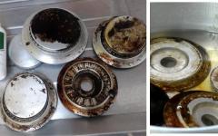 Limpar boca do fogão queimada – Passo a Passo